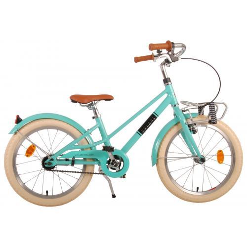 Volare Melody Rower dziecięcy - Dziewczyny - 18 cale - turkusowy - Prime Collection