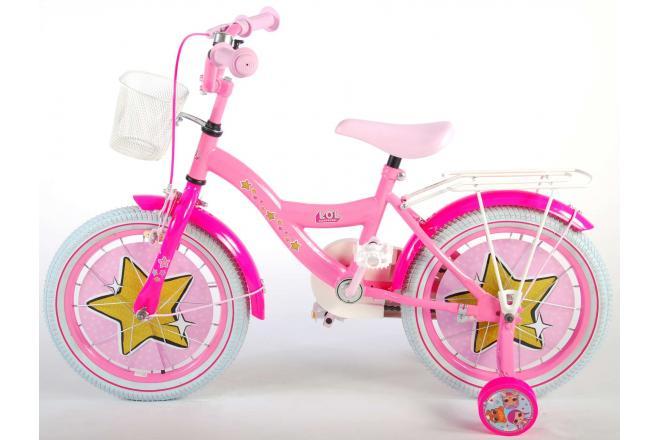 LOL Niespodzianka, 16-calowy rower dziewczęcy