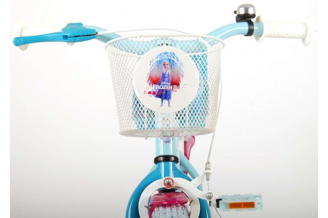 Rower dziecięcy Disney Frozen 2 - Dziewczęce - 12 cali - Niebieski / Fioletowy - 95% zmontowane