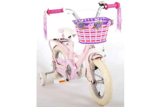 Volare Ashley Rower dziecięcy - Dziewczynki - 12 cali - Różowy - 95% zmontowany