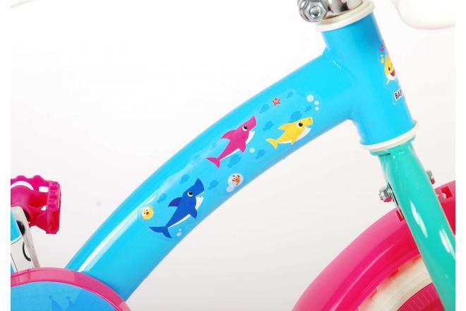 Baby Shark Rower dziecięcy - Unisex - 10 cali - Pink Blue